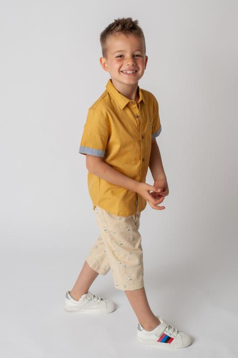 Pantaloni cu imprimeu barcute 6