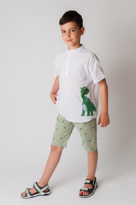 Pantaloni cu imprimeu cactusi [0]
