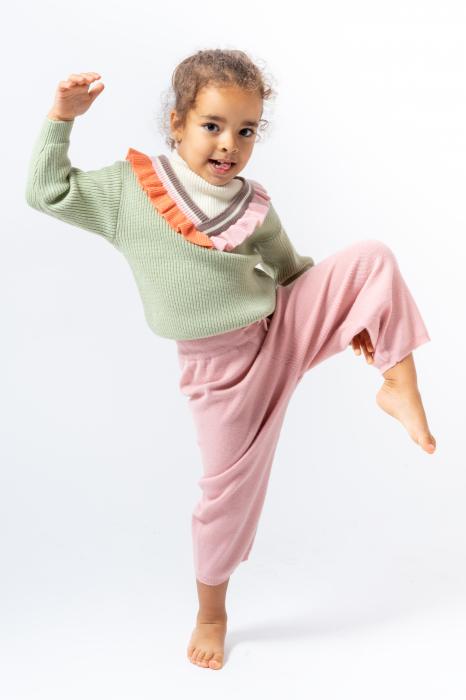 Pantaloni jogger din tricot 1
