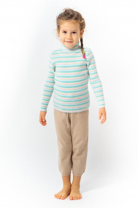 Pantaloni jogger din tricot 4
