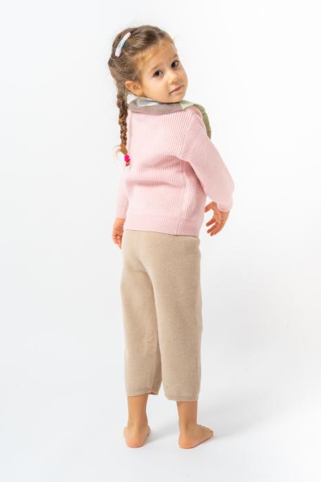 Pantaloni jogger din tricot 7