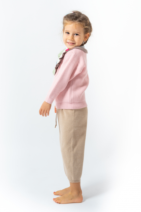Pantaloni jogger din tricot 6