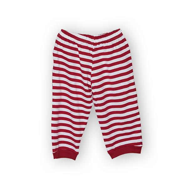 Pantaloni jogger trei sferturi cu dungi 1