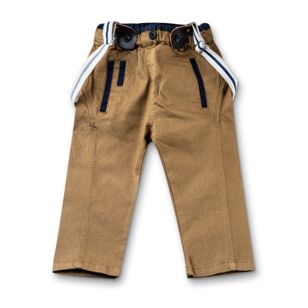 Pantalon cu bretele 5