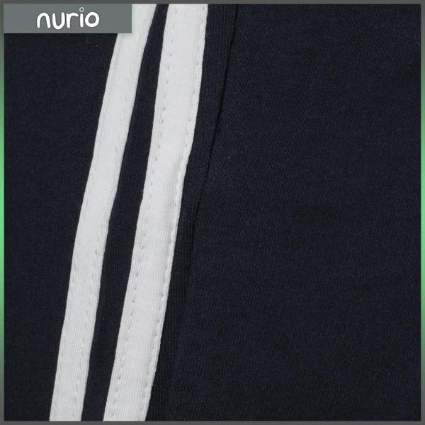 Pantaloni sport cu doua dungi laterale 7