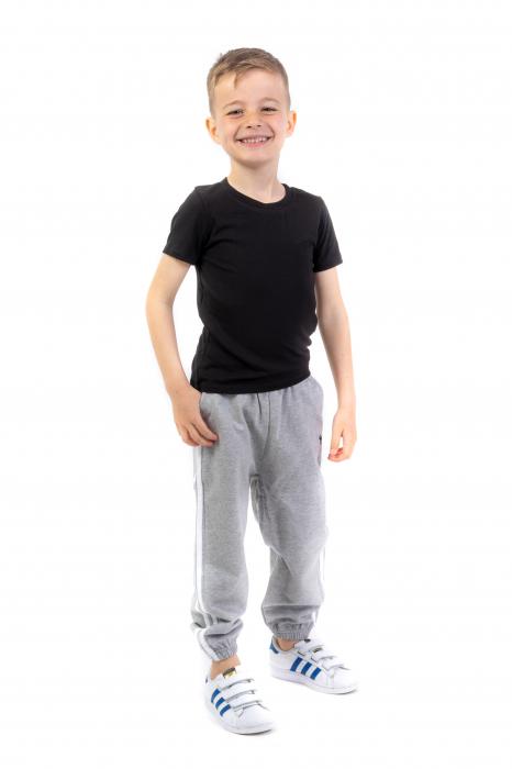 Pantaloni sport cu doua dungi laterale [1]