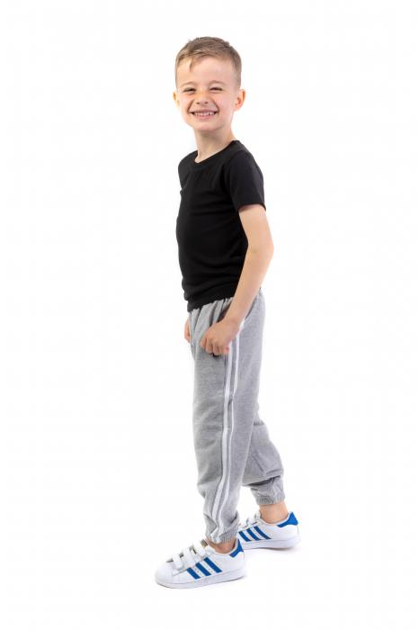 Pantaloni sport cu doua dungi laterale [0]