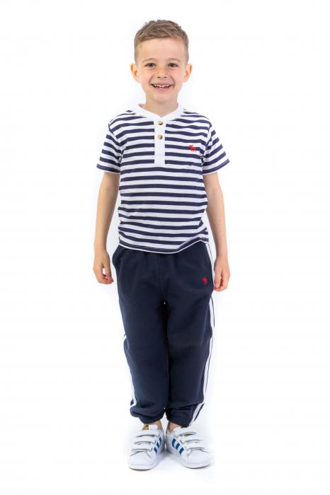 Pantaloni sport cu doua dungi laterale 2