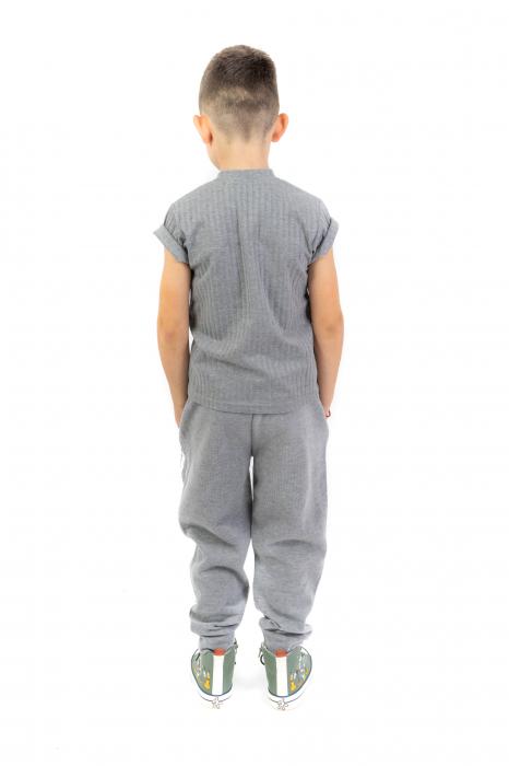 Pantaloni sport cu dunga laterala 4