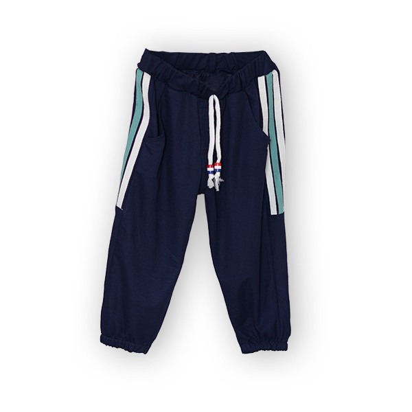 Pantaloni subtiri cu dungi laterale [3]