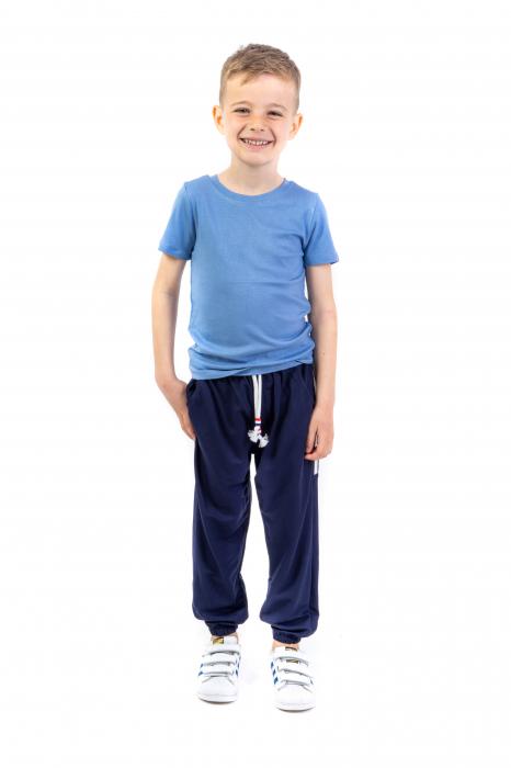 Pantaloni subtiri cu dungi laterale [1]