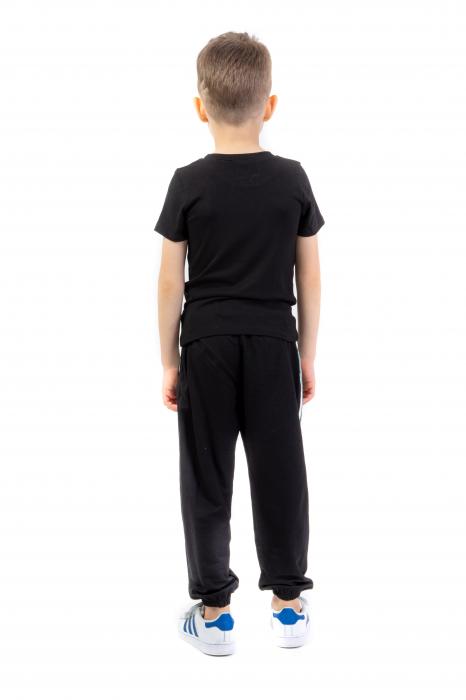 Pantaloni subtiri cu dungi laterale [2]