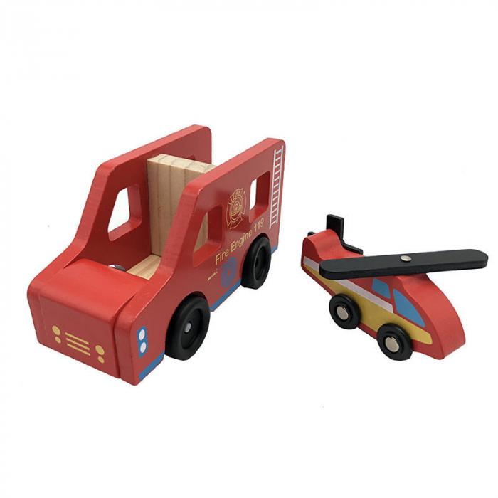 Statie de pompieri cu accesorii - jucarie de rol 3
