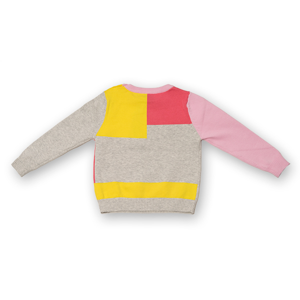 Pulover din Tricot Colorat 1