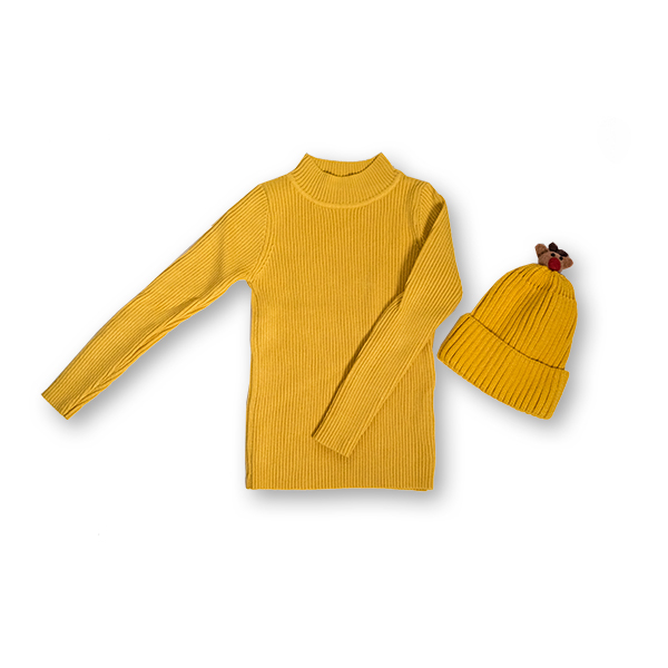 Pulover Simplu din Tricot [6]
