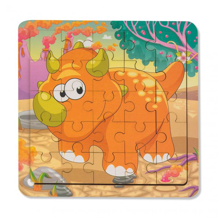 Puzzle din lemn - dinozaur [0]