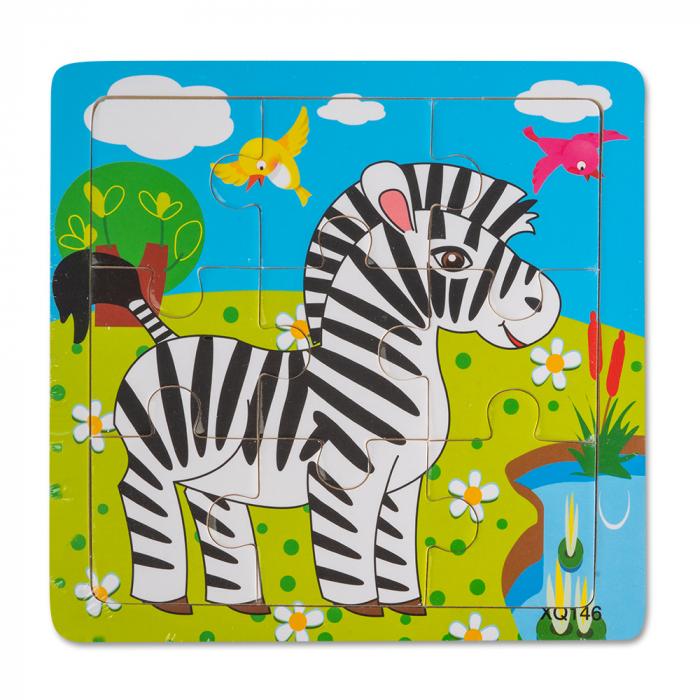 Puzzle din lemn - zebra [0]