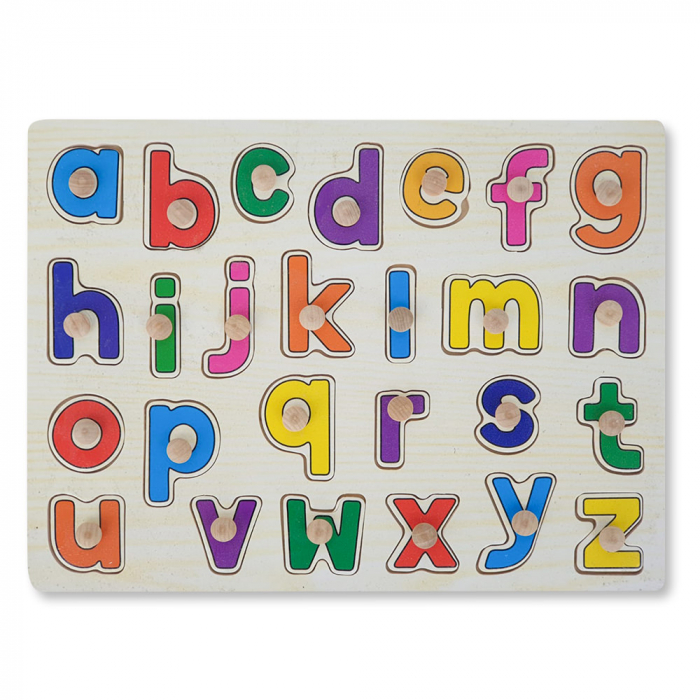 Puzzle din lemn cu litere 1