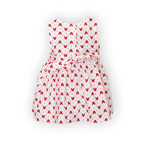 Rochie cu imprimeu rosu 5