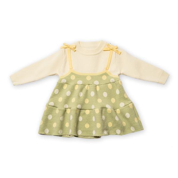 Pulover tip rochita din tricot cu buline [5]