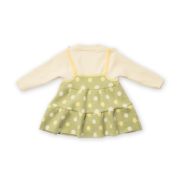 Pulover tip rochita din tricot cu buline [6]