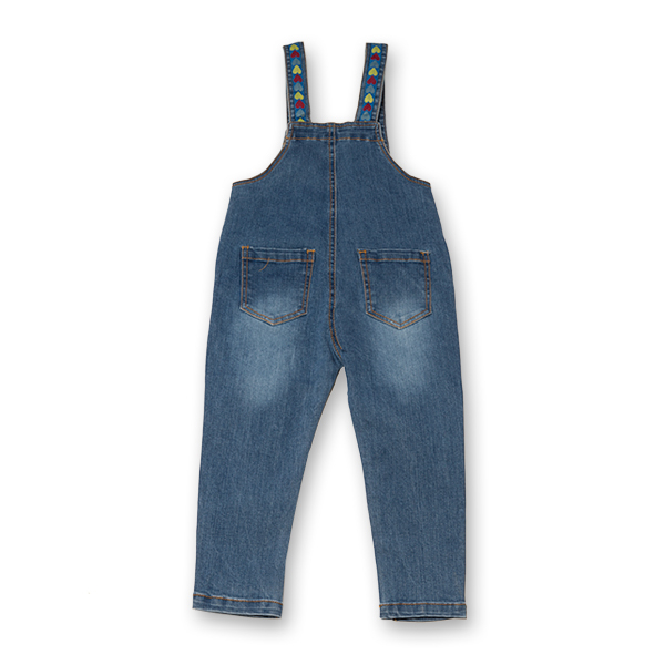 Salopeta denim lunga 4