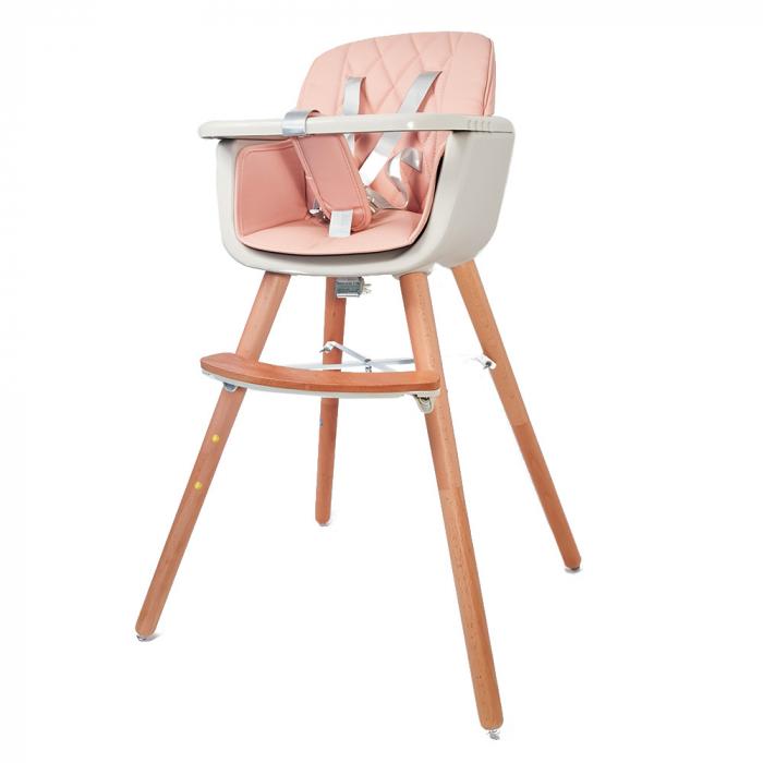 Scaun de masa  2 in 1 din lemn 3