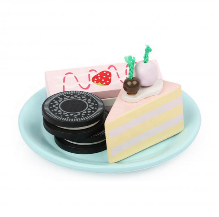 Set de dulciuri și ceai din lemn -12 piese 4