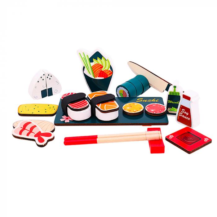 Set sushi din lemn [2]