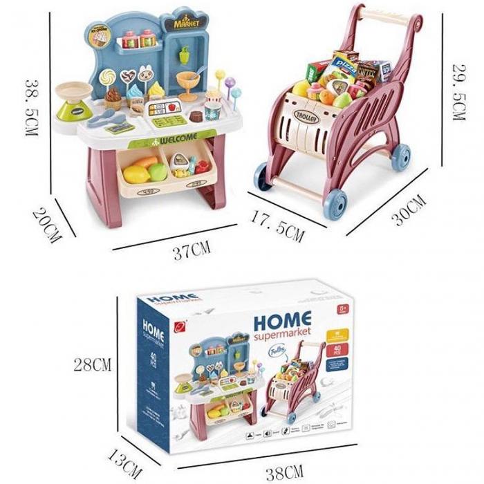 Set de joaca - magazinul de acasa - 40 piese 1