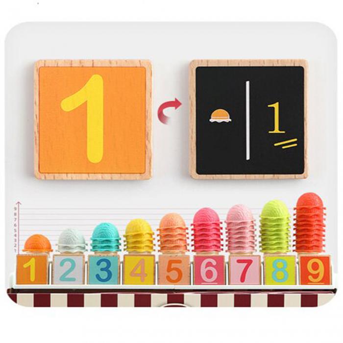 Set de joaca - cutia cu inghetata - 87 piese 3