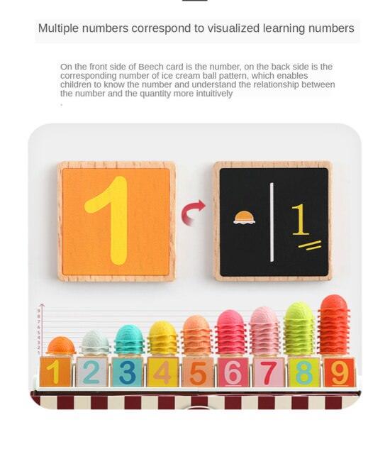 Set de joaca - cutia cu inghetata - 87 piese 2