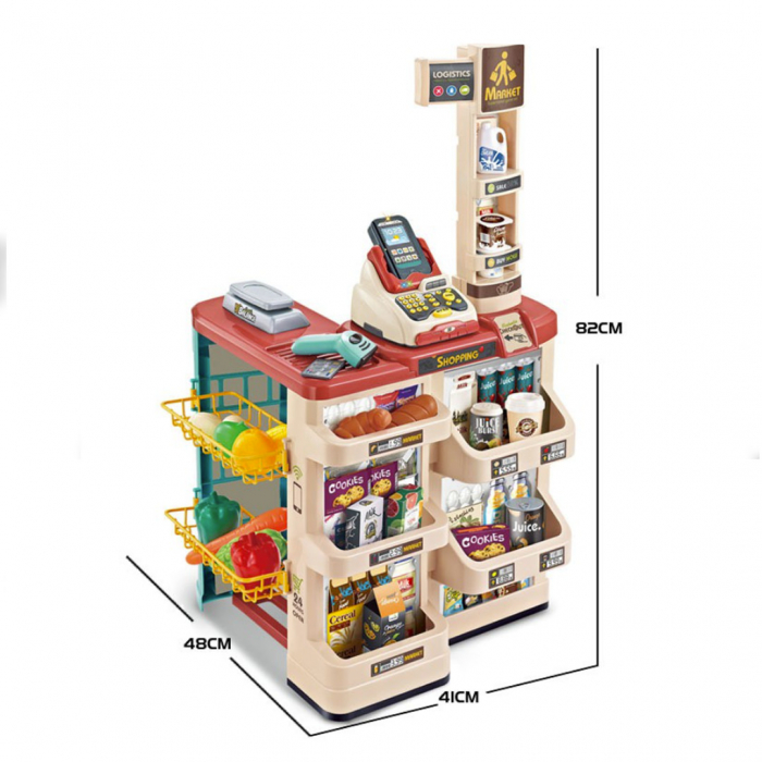 Set de joaca - magazinul de acasa - 48 piese 2