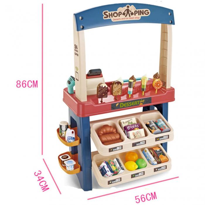 Set de joaca - magazinul de inghetata - 55 piese 1