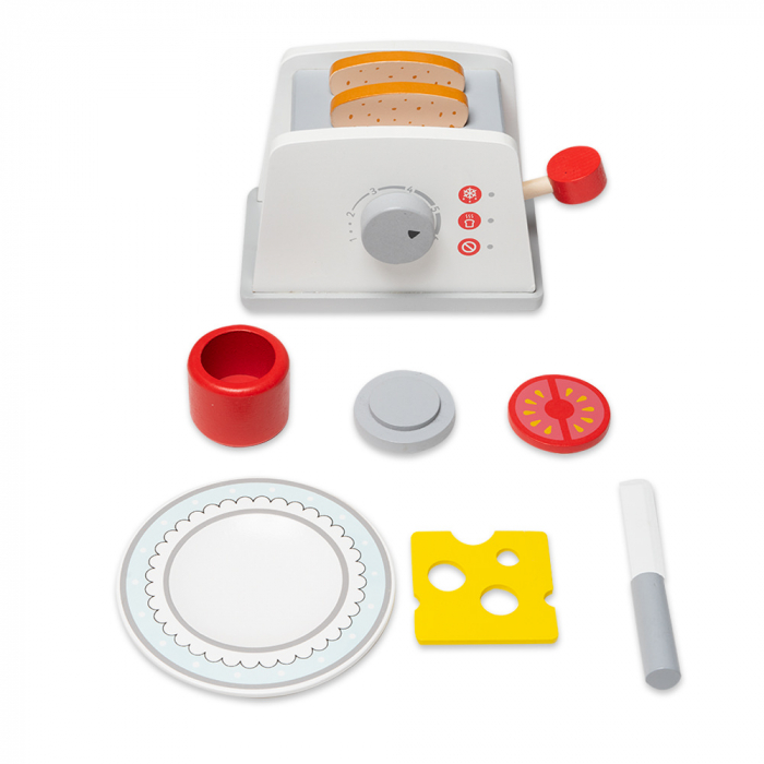 Toaster din lemn cu accesorii 1