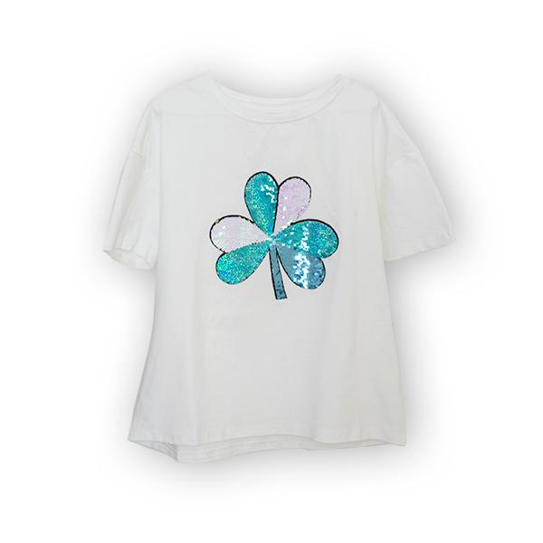 Tricou cu paiete reversibile [4]