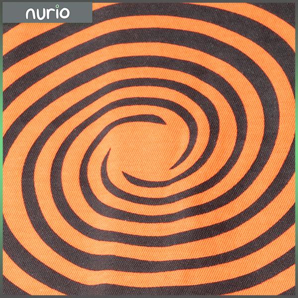 Tricou portocaliu cu cercuri negre [1]