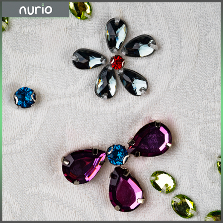 Rochie din brocart cu flori6