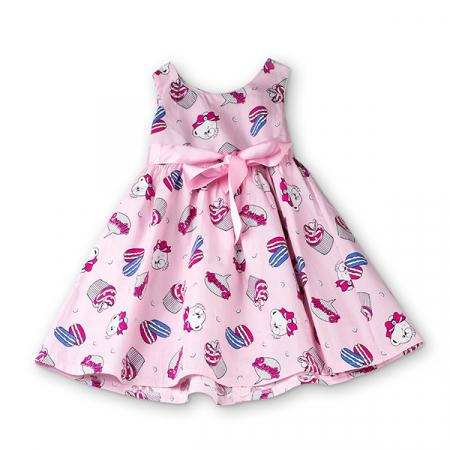Rochie roz cu inghetata si ursuleti [6]
