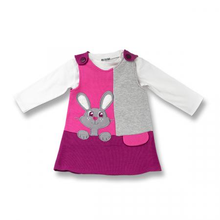 Set doua piese fetite cu sarafan si bluza0