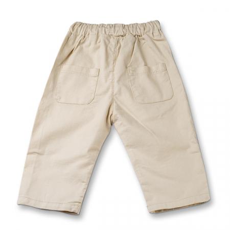 Pantaloni in ivoire cu snur  baieti1