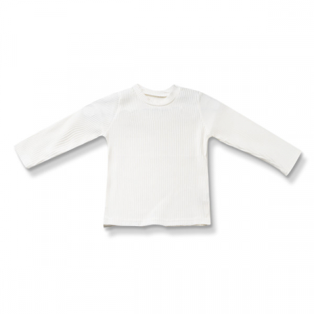 Bluza alba din bumbac0