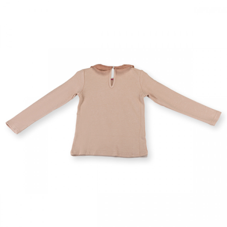 Bluza eleganta bej cu paiete5