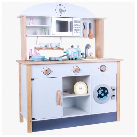 Bucatarie multifunctionala din lemn pentru copii cu accesorii [1]