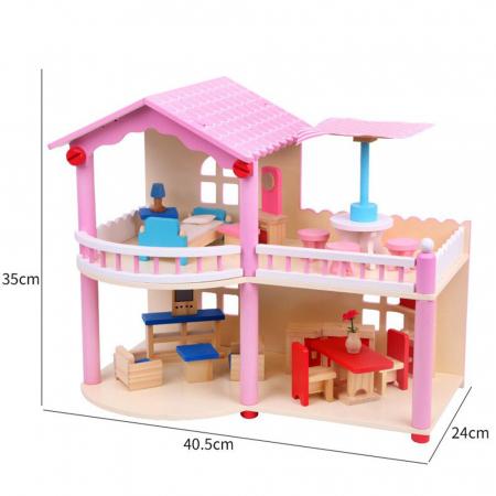 Căsută de păpuși cu terasa1