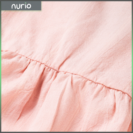 Camasa roz cu volanas si panglica din satin [2]