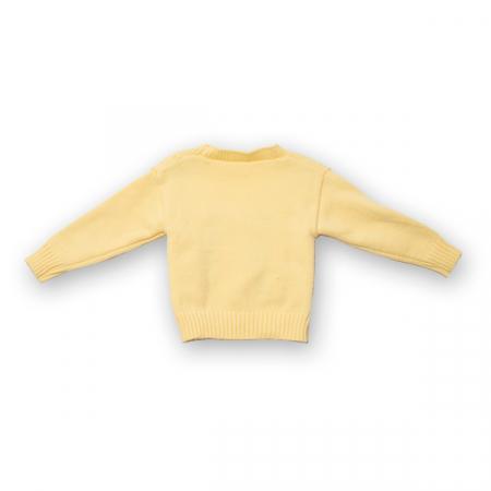Cardigan din tricot cu broderie1