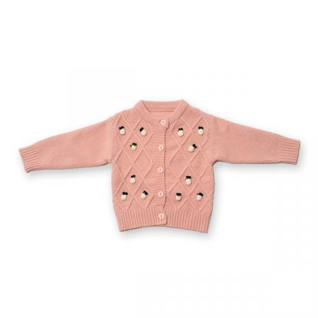 Cardigan din tricot cu nasturi0