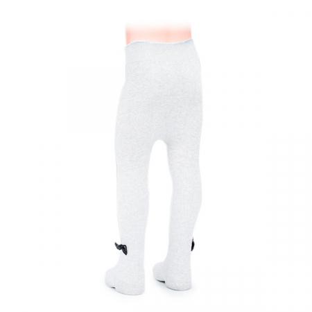 Ciorapi albi grosi cu fir lame [1]