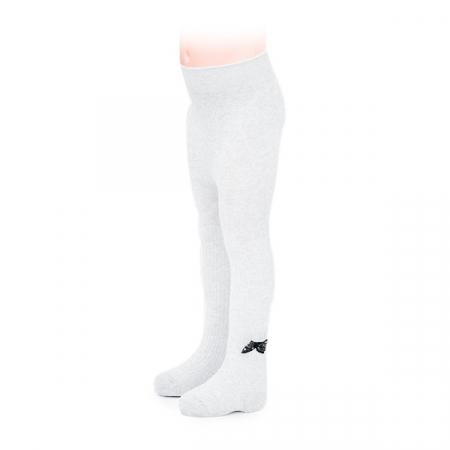 Ciorapi albi grosi cu fir lame [0]